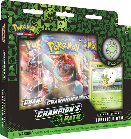 Pokemon TCG: 3.5 Champion's Path - Turffield Gym (1)