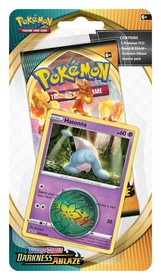Pokemon TCG: Darkness Ablaze - Checklane Blister Hatenna