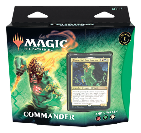 Magic The Gathering: Zendikar Rising - Commander Deck - Land's Wrath (1)