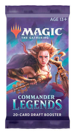 Magic: The Gathering: Commander Legends - Booster (1)