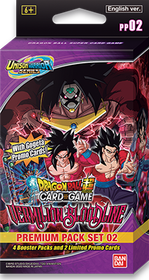 Dragon Ball Super Card Game - Vermilion Bloodline Premium Pack (BT-11)