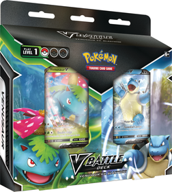 Pokemon TCG: Battle Deck Bundle February Venusaur vs. Blastoise