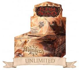 Flesh & Blood TCG - Monarch Unlimited Booster Display (24 Packs) - EN