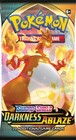 Pokemon TCG: Sword & Shield - Darkness Ablaze Booster  (2)