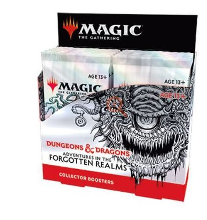 Magic The Gathering -  Adventures In The Forgotten Realms Collector Booster Box (1)