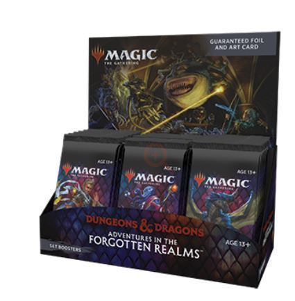 Magic The Gathering Adventures In The Forgotten Realms Set Booster Box (30) (1)