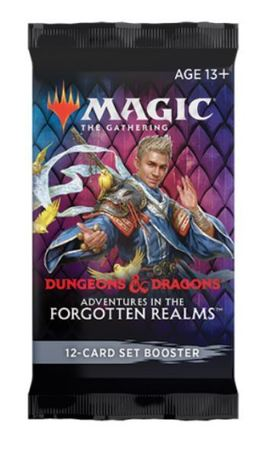 Magic The Gathering Adventures In The Forgotten Realms Set Booster (1)