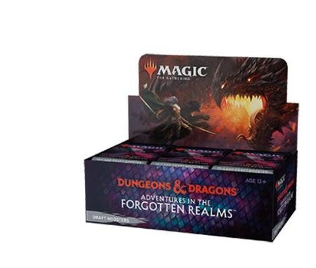 Magic The Gathering - Adentures In The Forgotten Realms Draft Booster Box  (1)