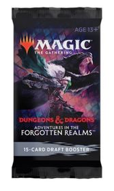 Magic The Gathering - Adentures In The Forgotten Realms Draft Booster