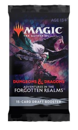 Magic The Gathering - Adentures In The Forgotten Realms Draft Booster (1)