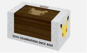 Pokemon TCG: 25th Anniversary - Pikachu Deck Box