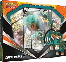 Pokemon TCG: Sword & Shield - Rebel Clash June'20 V Box - Copperajah